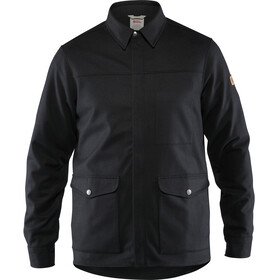 Fjällräven Greenland Camisa Chaqueta Re-Wool Hombre, black